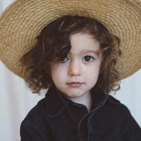 Kids Brookes Boswell Straw Nantes Hat