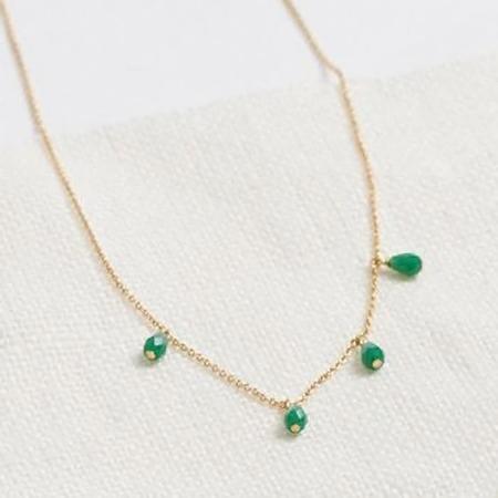 Polder Sunset Brass Necklace