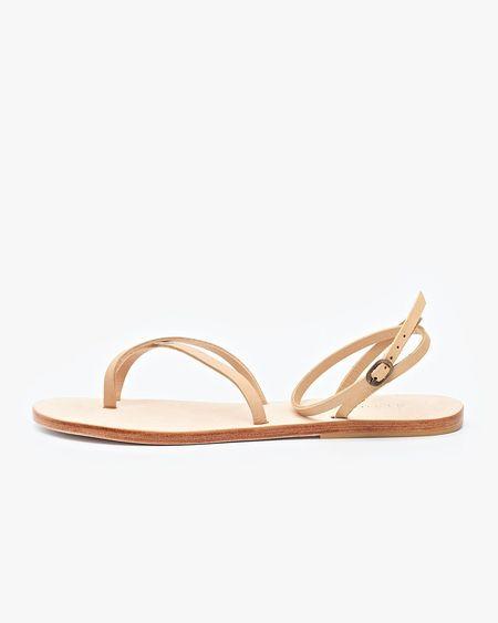 Nisolo Cora Wrap Sandal - Beige
