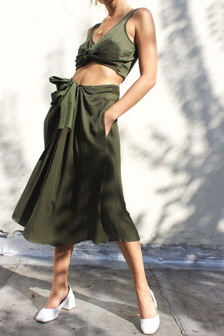 Ajaie Alaie Besos Skirt - Fern