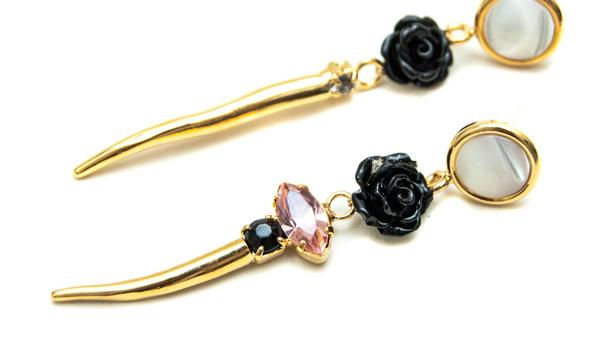 Lizzie Fortunato Heartbeat II Earrings