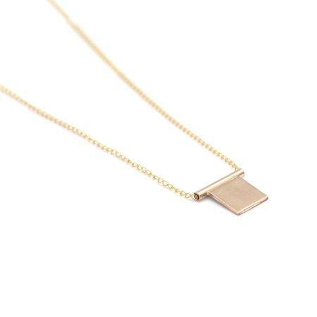 Favor Cubic Necklace - GOLD