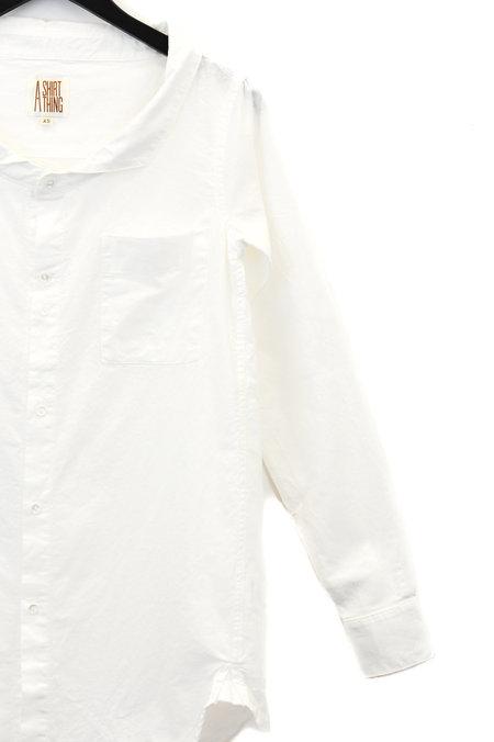 A Shirt Thing Vitto Top - White