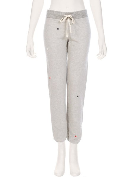 Sundry All Over Stars Sweatpant - HEATHER GREY