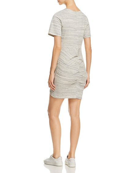 Cosette Giselle French Terry Dress - Heather Grey
