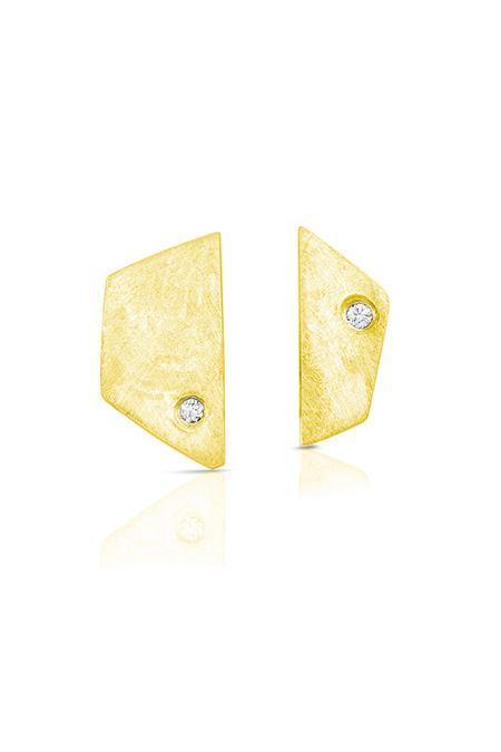 Enji Alta Earrings - 14kt White Gold BSJ8dc1pDY