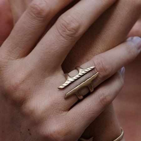 Catori Life Akash Wrap Ring - Bronze