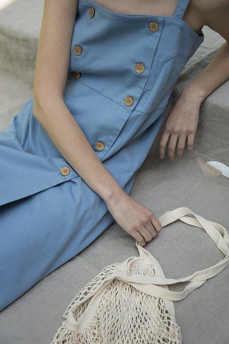 Oshadi Button Down Wrap Dress