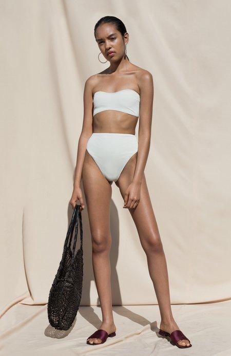 Pari Desai Isola Two Piece Swimsuit - Milk