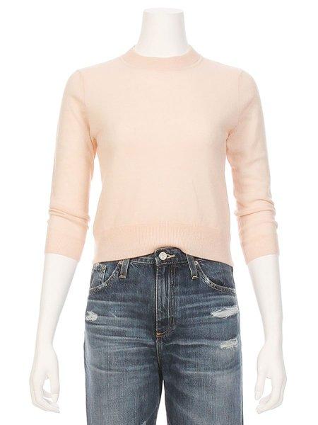 Autumn Cashmere Open Tie Back Crop Sweater
