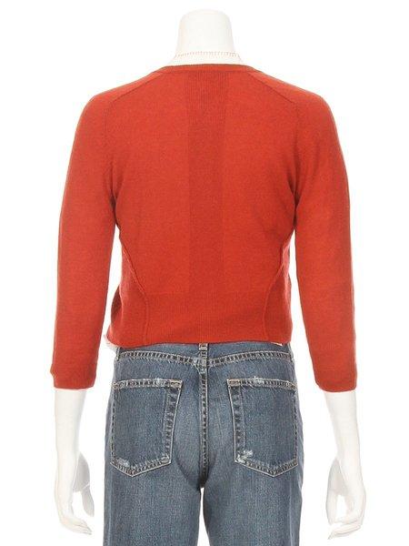 Autumn Cashmere Rib Detail Baby Cardigan