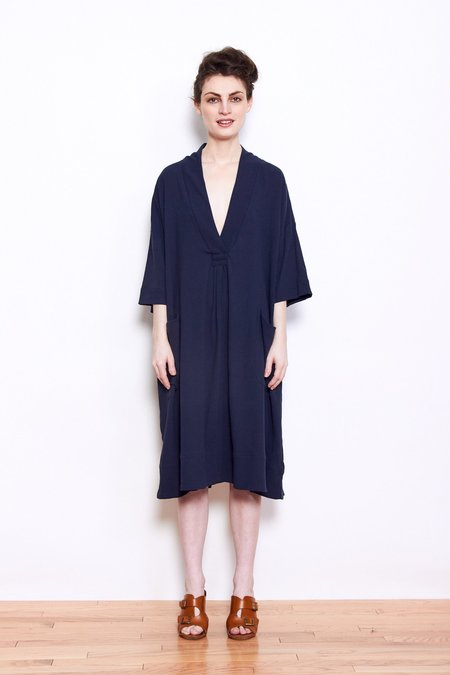 Sunja Link Pullover Dress - Navy