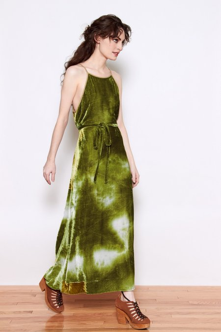 Upstate Amalfi Dress - Moss