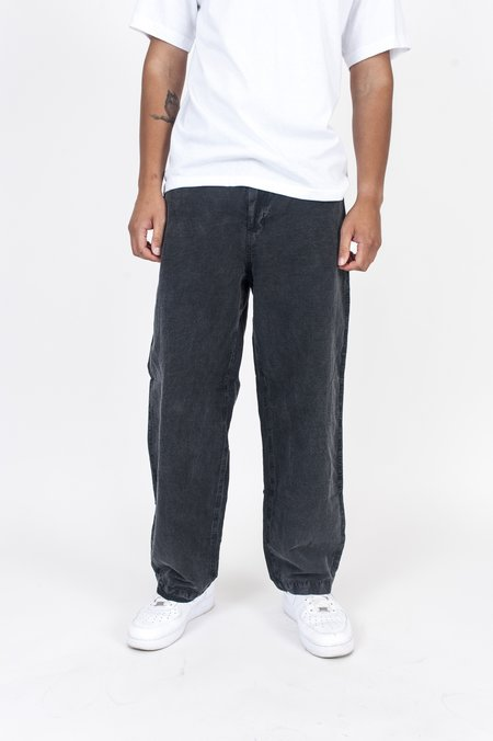 Our Legacy Cocktail Drape Trouser - Charcoal