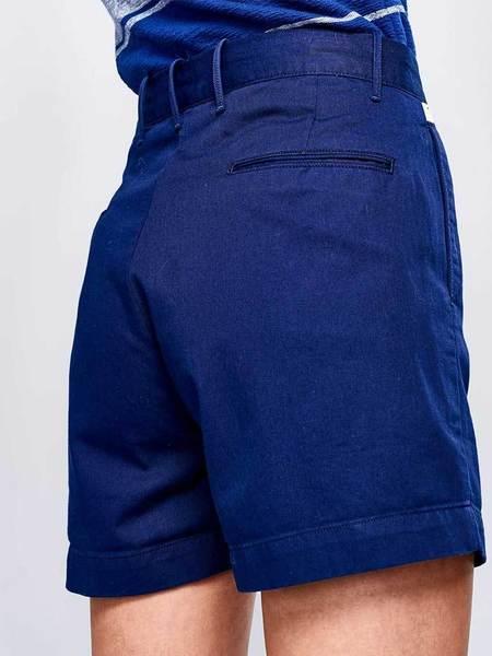 Bellerose Plek Shorts - Navy
