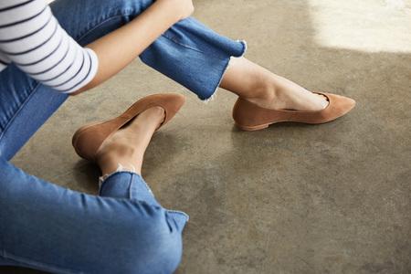 Nisolo Ava Ballerina Flat - Tan