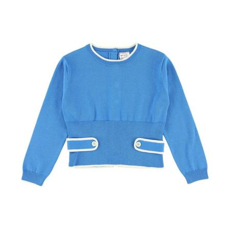 KIDS Morley Hope Pullover Sweater - Ocean Blue