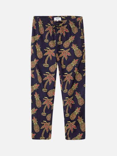 Unisex WeSC Zeke Pineapple Pants - Pineapple Navy