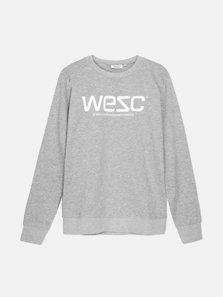 Unisex WeSC Sweatshirt - Grey Melange