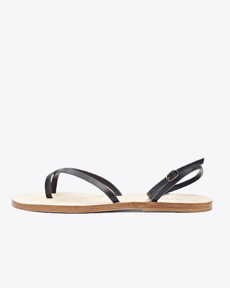 Nisolo Cora Wrap Sandal - Noir