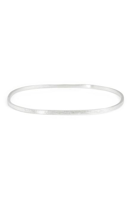 Enji Olena Bangle - Sterling Silver