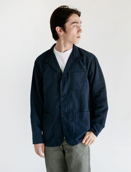 Engineered Garments Loiter Jacket - Dark Navy Nylon