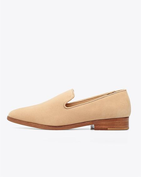 Nisolo Frida Smoking Loafer - Wheat