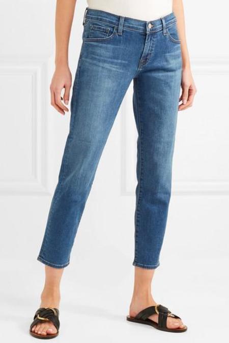J BRAND Sadey Cropped Jeans - Lovesick