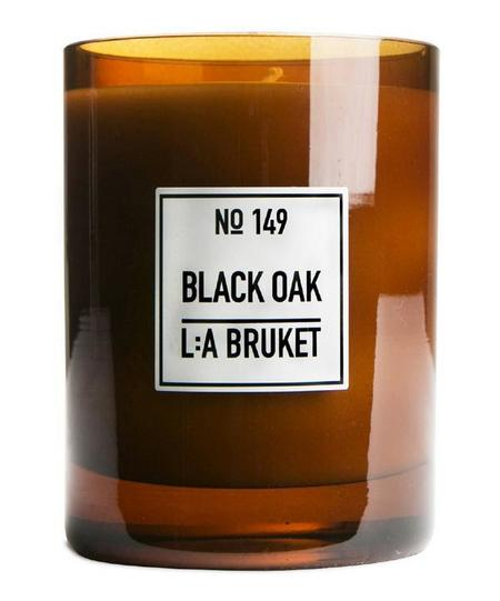 L:A BRUKET Black Oak Candle