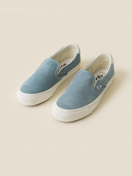 VANS VAULT Suede OG Slip-On 59 LX - Smoke Blue/Marshmallow