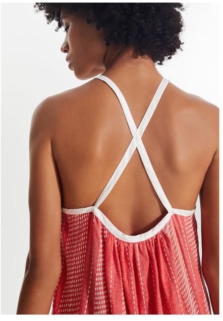 LemLem Saba Sundress - Strawberry