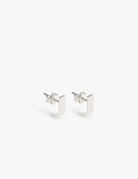 The Boyscouts Pack Pin L Pair Earring - Silver