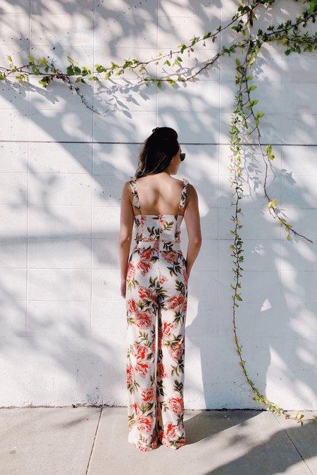 Between Ten Josephine Jumpsuit - Floral
