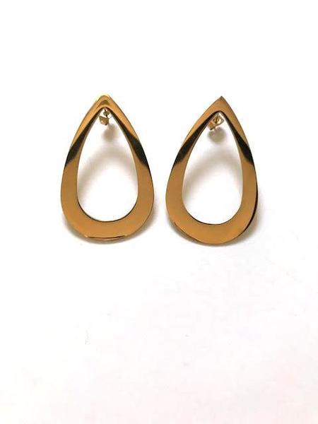 Haarstick Classic Teardrop Earrings - Gold