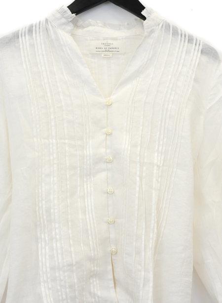 Trovata Lana Pintuck Shirt - white