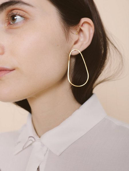 BY NYE Elliptical Earrings