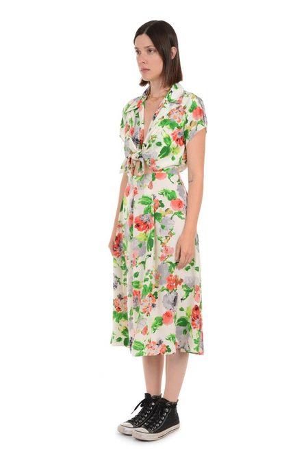Lindsey Thornburg Watercolor Clark Dress - Floral