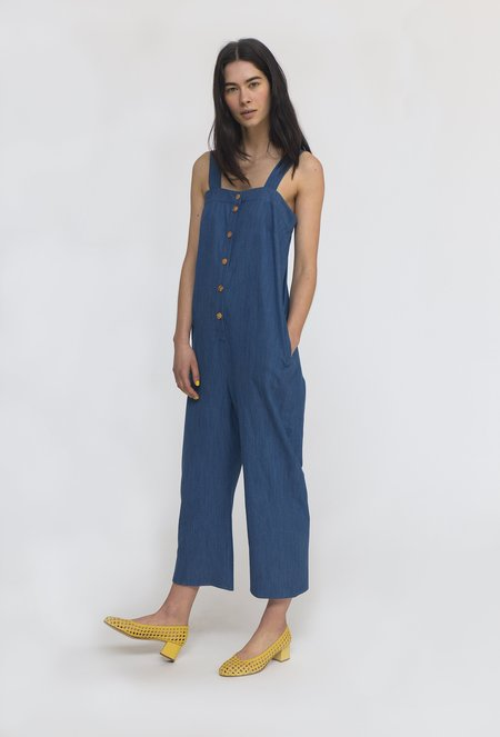 Heinui Helio Jumpsuit - Light Denim