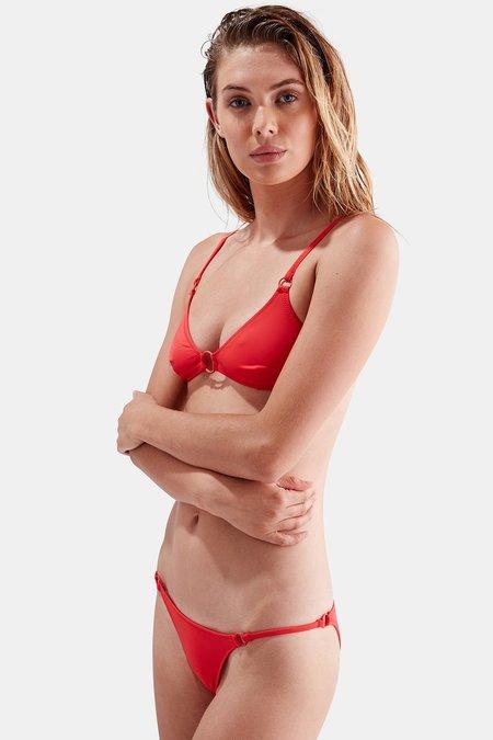 Solid & Striped Tilda Bikini Bottom - All Red