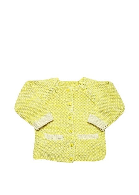 Kids La Petite Collection Cardigan - Yellow