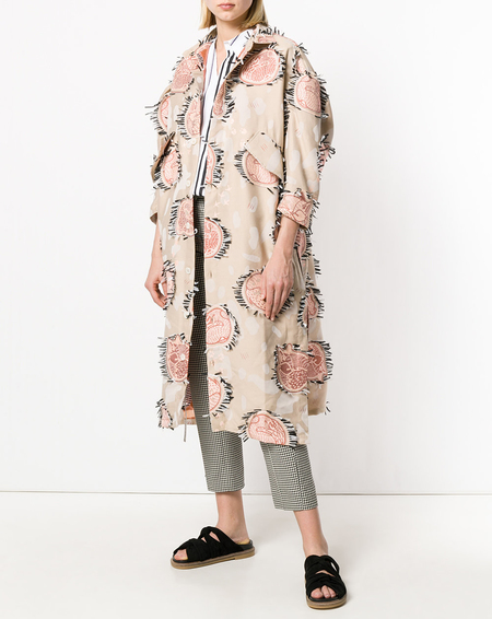 Henrik Vibskov I Love U 2 Dresscoat - Sleeping Animals/Light Jacquard