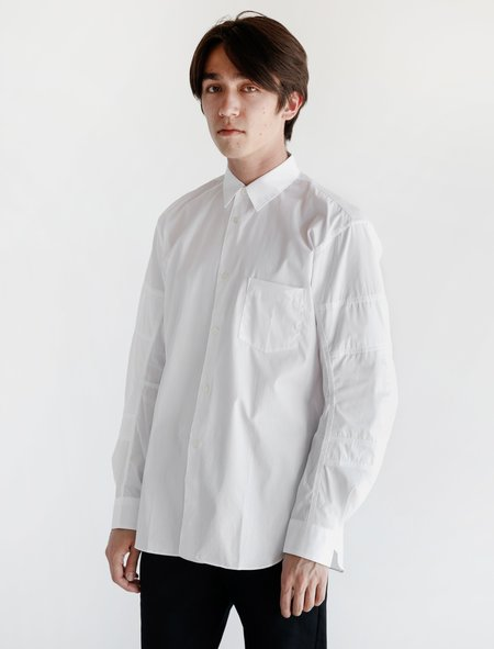551a73bfe10 ... Comme des Garçons Shirt Panelled Sleeve - White