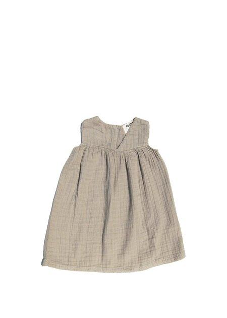 Kids Go Gently Nation Gauze Dress - Eucalyptus