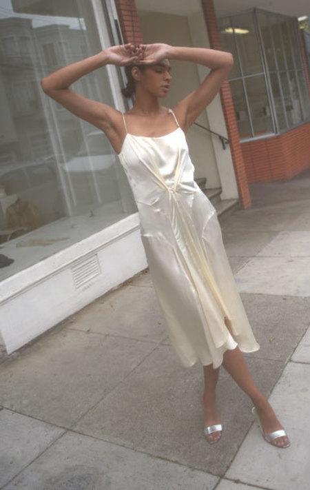 Carven Slip Dress - Cream