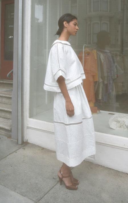 Gabriela Alexandrova Geometric Skirt