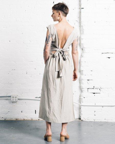 Ozma La Piedra Dress - Stucco