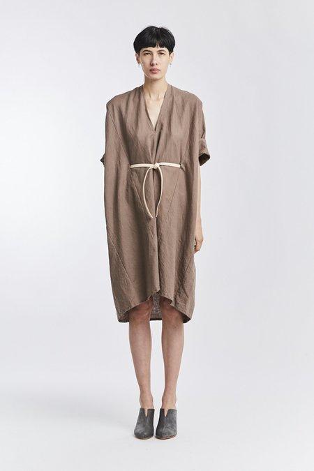 Miranda Bennett Linen O'Keeffe Dress - Terlingua