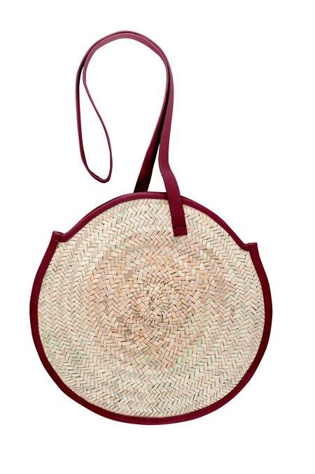 Parme Marin Tadlak Shoulder Bag - Crimson