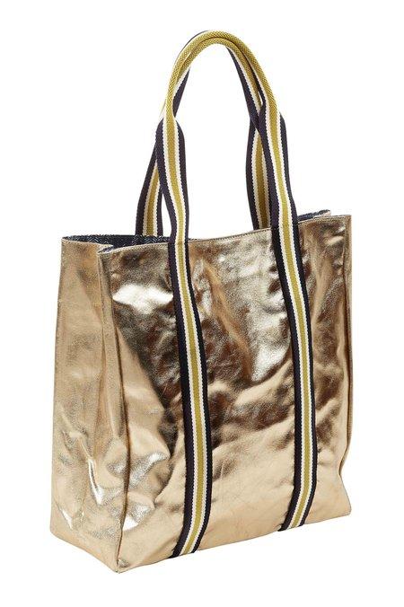 Inouitoosh Dita Metallic Tote Bag - Gold