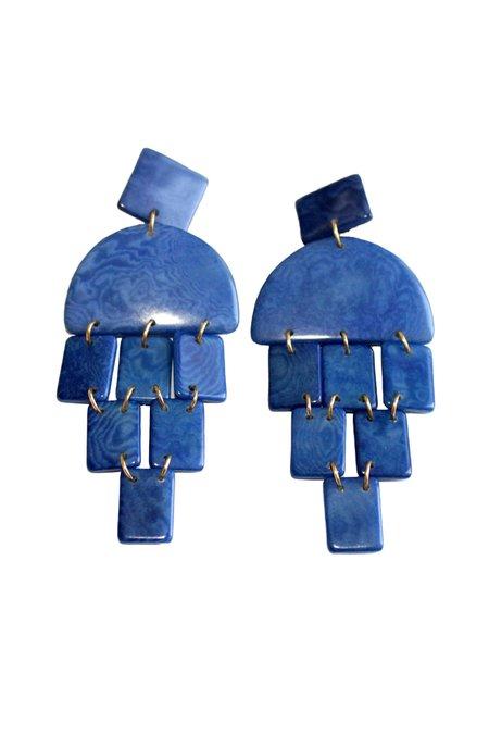 SHICATO Virgilia Earrings - Blue